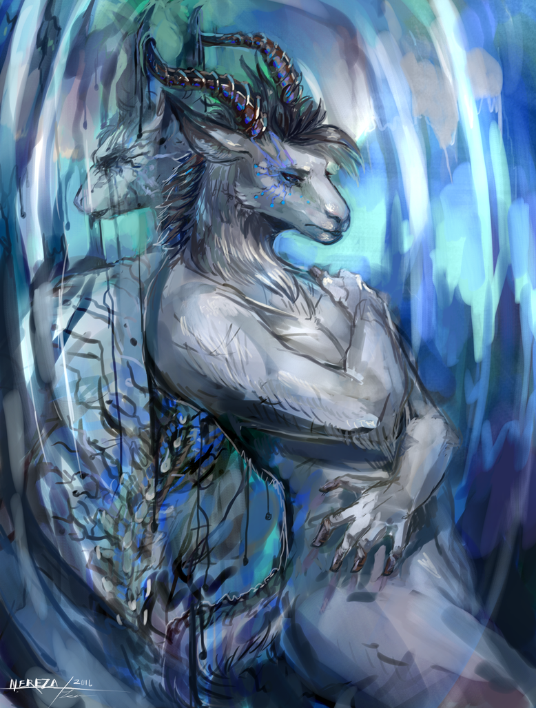 Doubt - commission by NerezaWorks