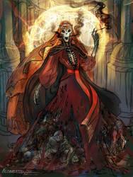 Undead queen by NerezaWorks