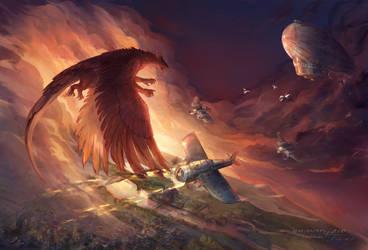 - The Skies of Astar - by NerezaWorks