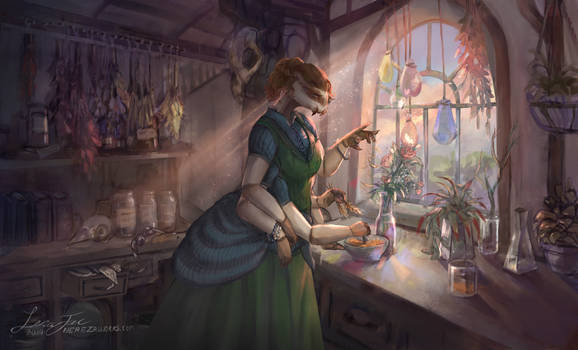 The Humble Apothecary - Commission