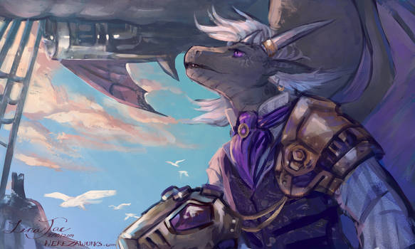 Conquering the Skies - commission