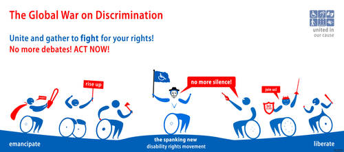 Call to action: disabled people