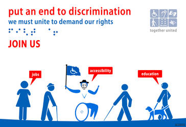 Peaceful disabled people: call to action