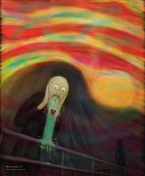 Scream of love
