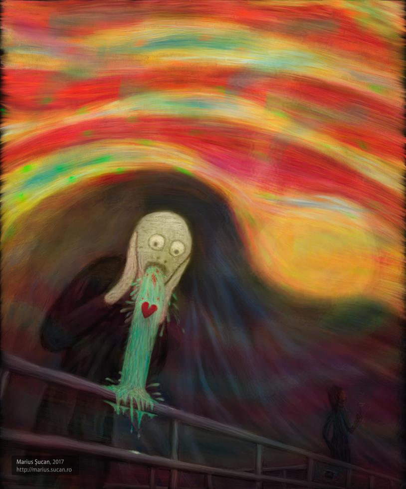 Scream of love by robodesign