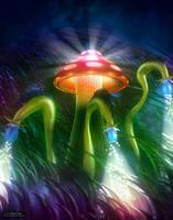 Mushroom Kingdom by robodesign