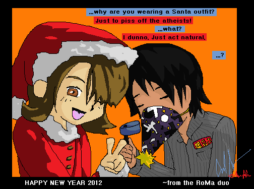 Happy New Year 2012 by Cadeyrn26