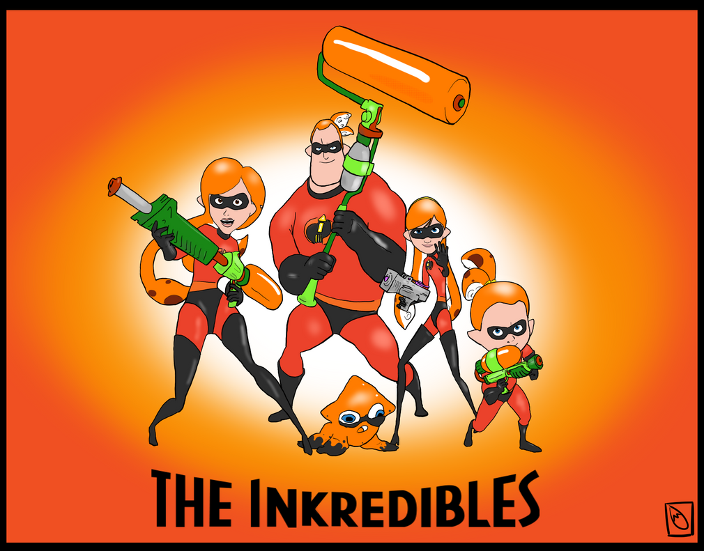 The Inkredibles by Cadeyrn26