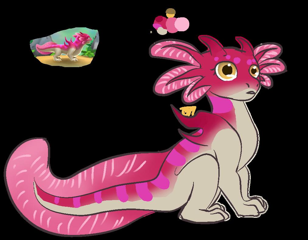 omg little axodragon named Vilnis by T3rrorT1ts
