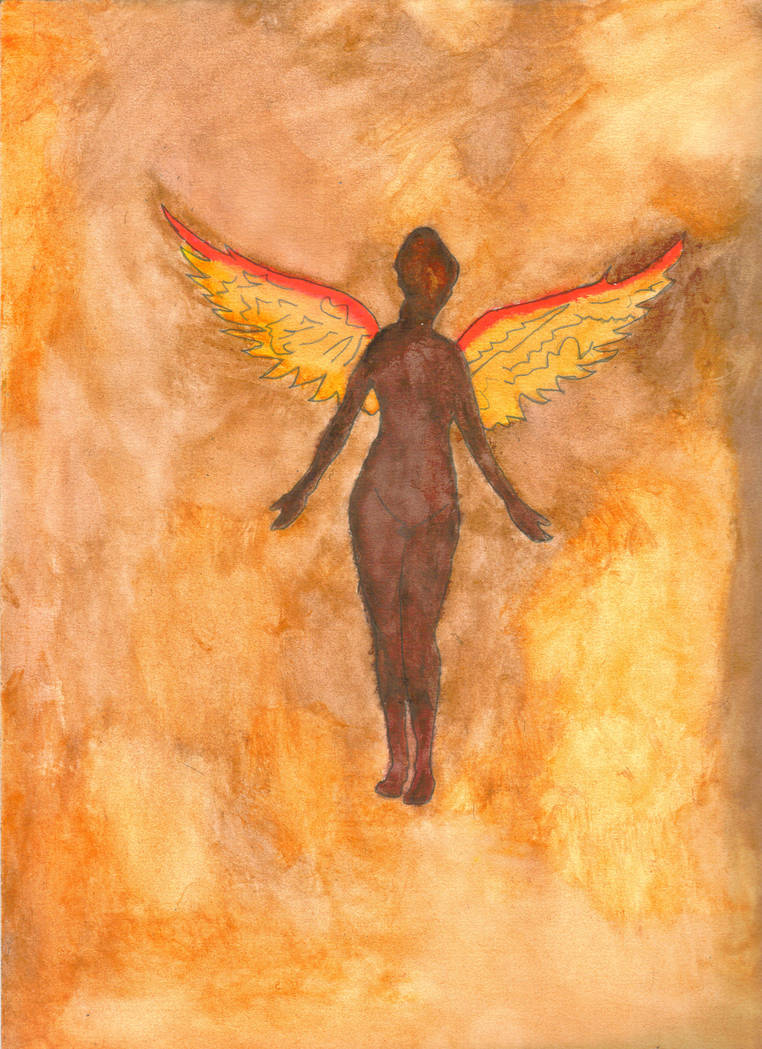 Nirvana In Utero Angel Color By Chadkarnage On Deviantart