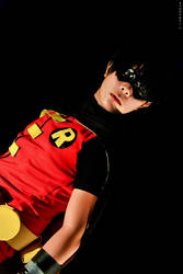 Young Justice : Robin / Dick Grayson by therealcarlosliao