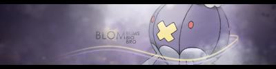 Collab Sig: Blom by RyuuketsuEG