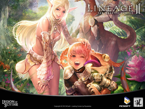 Lineage 2 Loading Screen