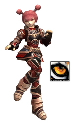 Lineage 2 Female Dwarf Render