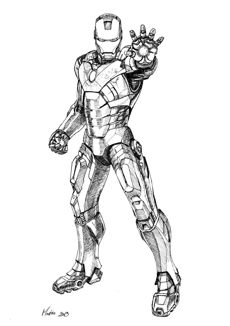 Iron-Man full by Stievwaxx on DeviantArt