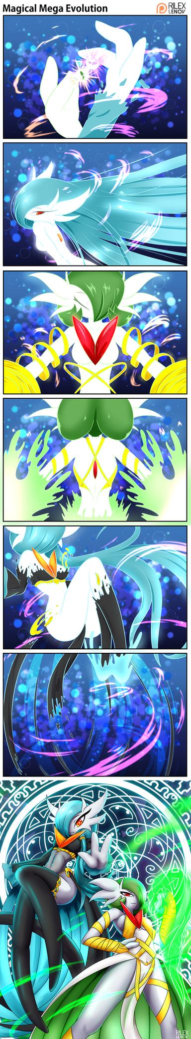 Magical Mega Evolution by RilexLenov
