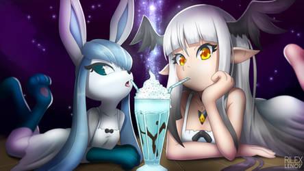 Aki and Mellow!
