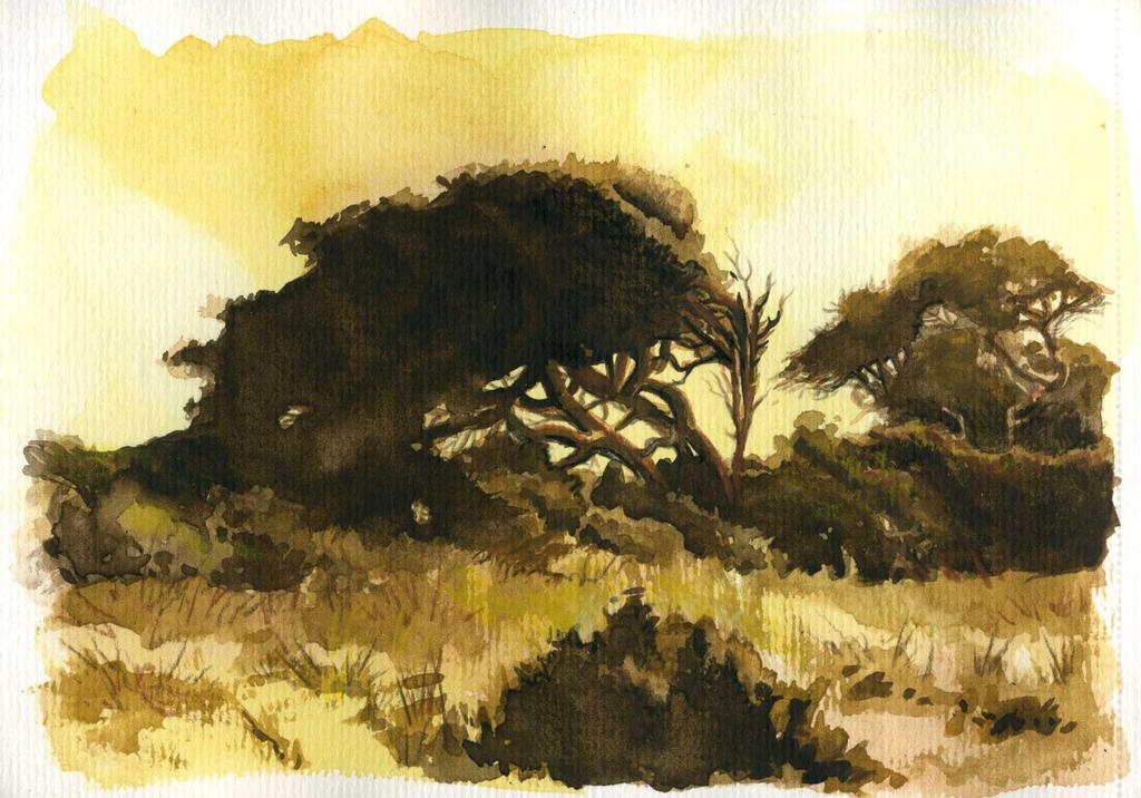Sepia Tree by i-am-mighty