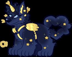 Custom: Starry Unicorn Cake