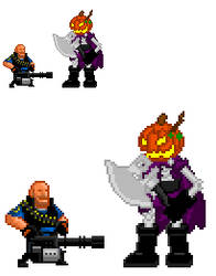 Happy Belated Halloween by Madvenomjack