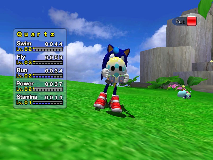 Sonic Adventure 2 Battle Chao Garden Quartz 1 By