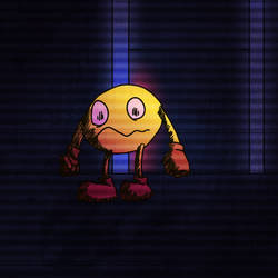 Creepy Pac: Pacman by Madvenomjack