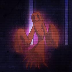 Creepy Pac: Blinky by Madvenomjack