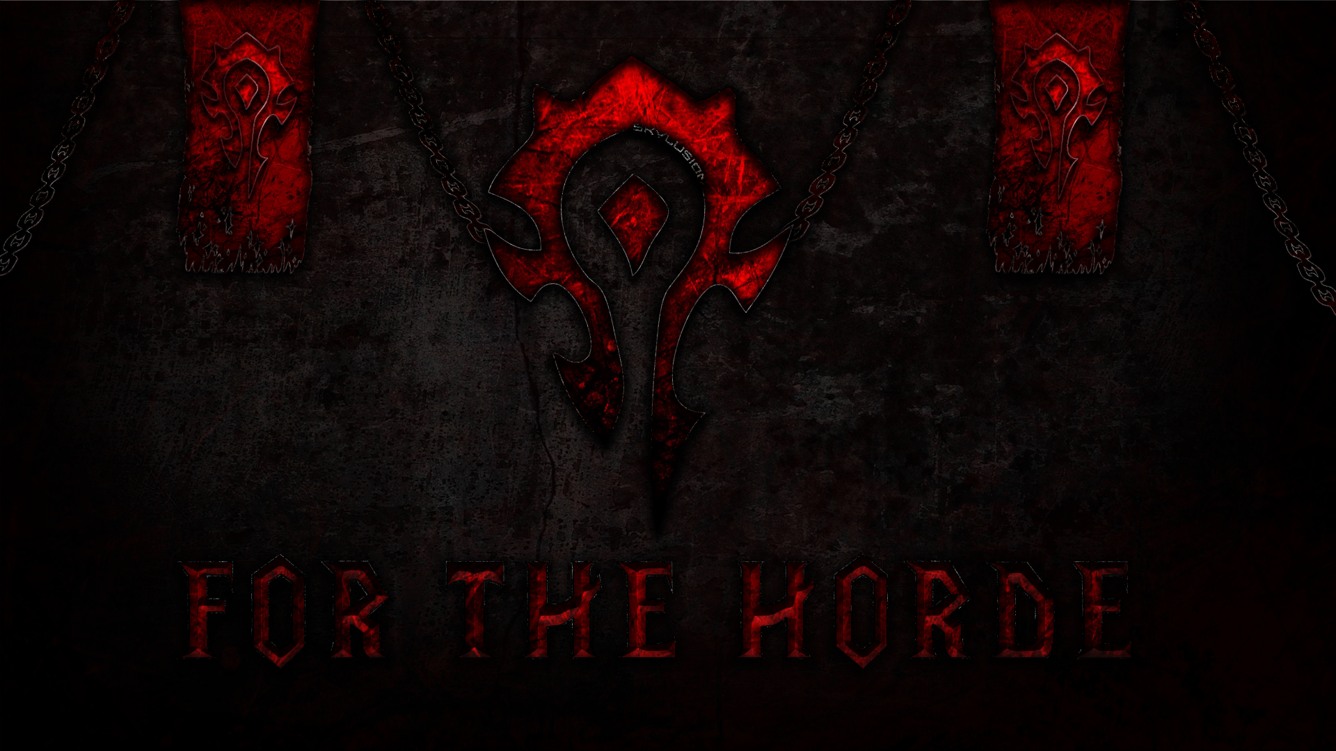 for the horde wallpaper by niojay on deviantart