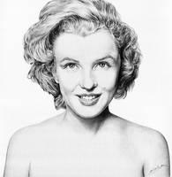 Marilyn Monroe no BG by Daddyo4