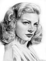 Lauren Bacall by Daddyo4