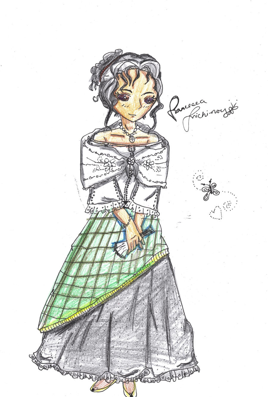 Philippine Costumes: Costume at the Fin de Siecle - Maria Clara