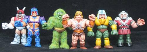 MOTU m.u.s.c.l.e Heros by plasticplayhouse