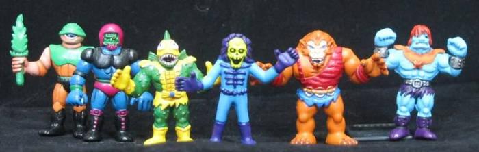 MOTU m.u.s.c.l.e Villains by plasticplayhouse