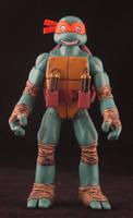 Santolouco style Mikey custom TMNT figure