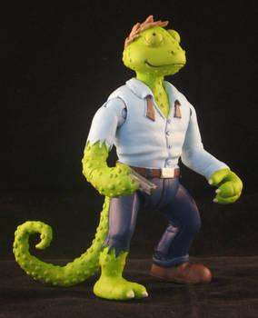 TMNT Chameleon - Steve Lavigne Playmates style