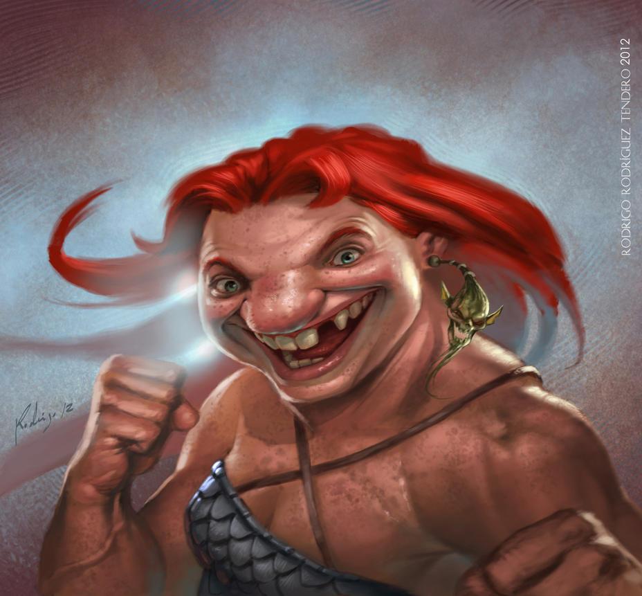 Dwarf champion by Callibanda