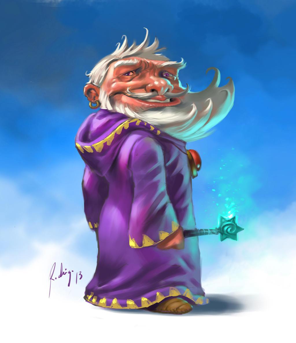 wizard by Callibanda