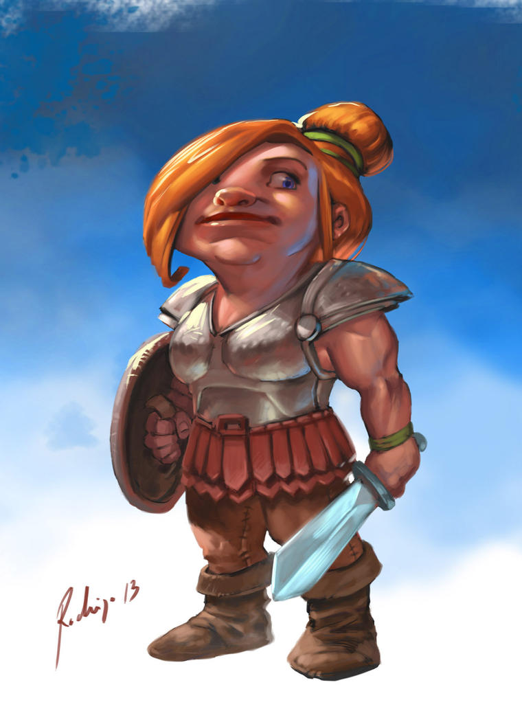Warrior by Callibanda