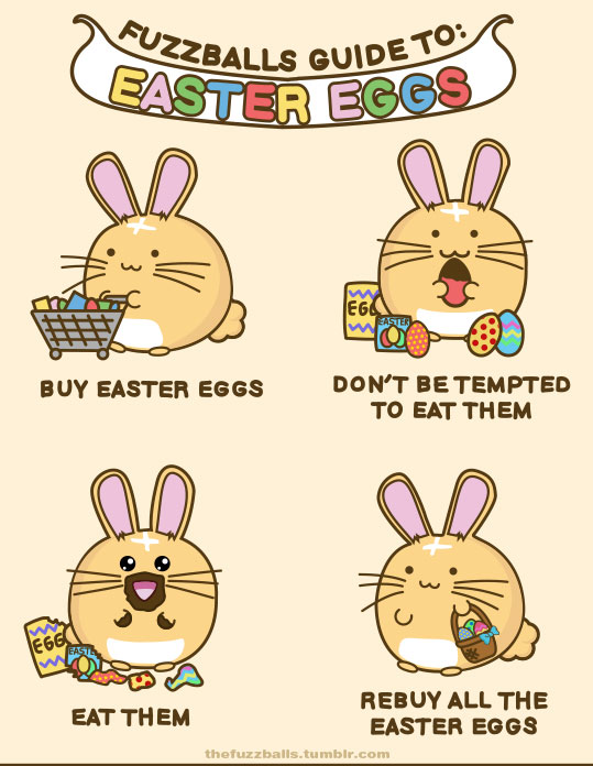 Fuzzballs Guide To Easter Eggs by TigarUK