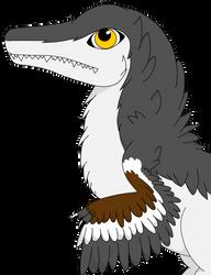 Dakotaraptor by Kriegdichnoch
