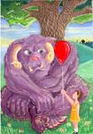 Abigail and the Purple Grumpus