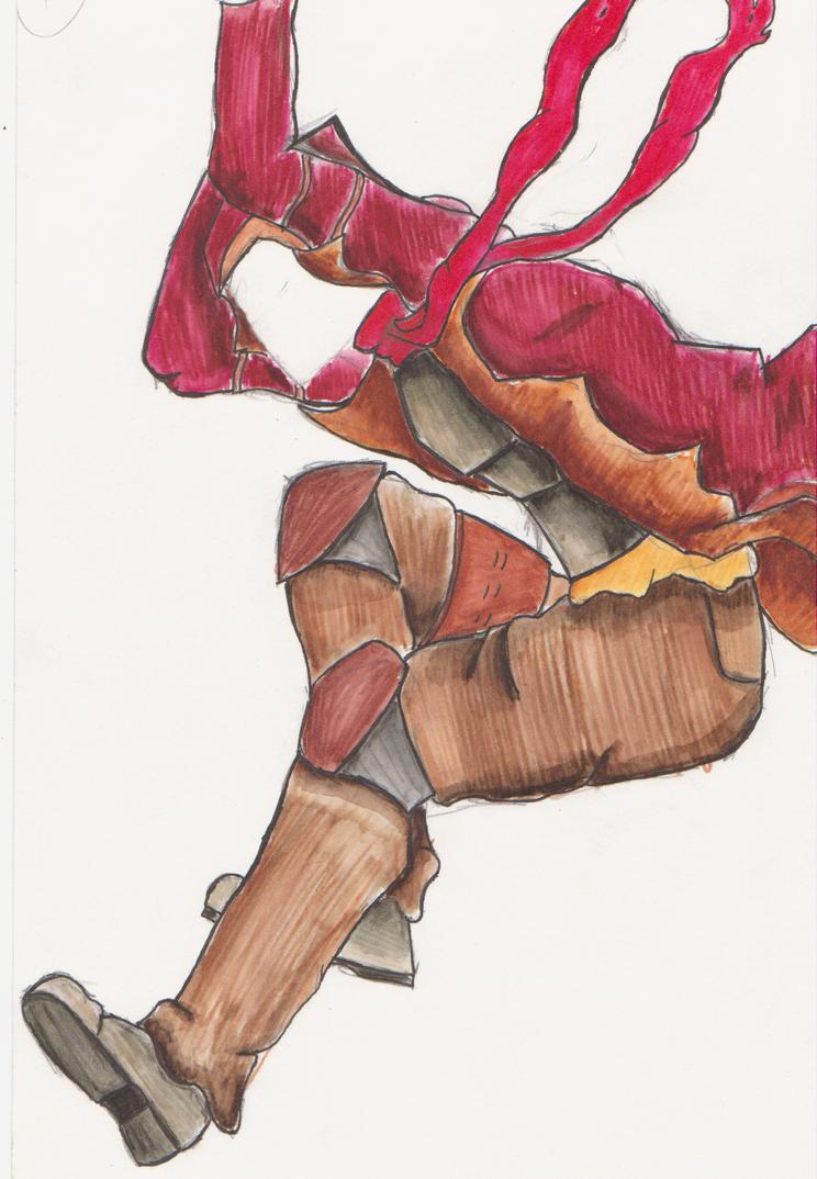Folio Sketchy Doodles by Blitzz09