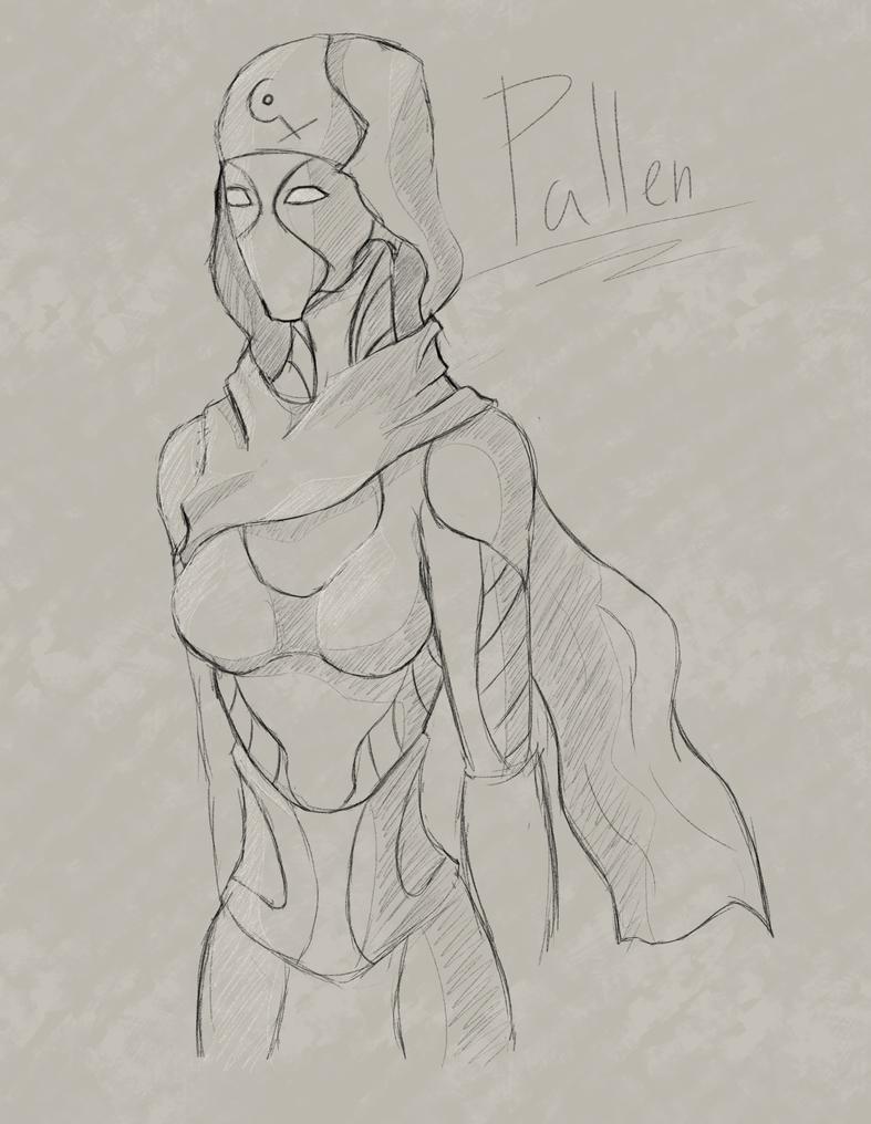 Pallen Sketch by Blitzz09