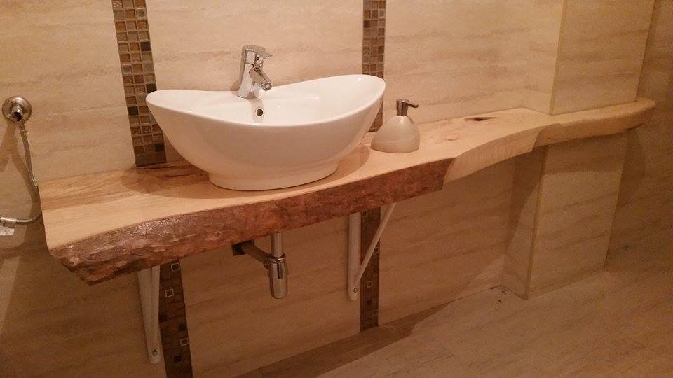 Bathroom sink board, ash wood. by snajpdj on DeviantArt