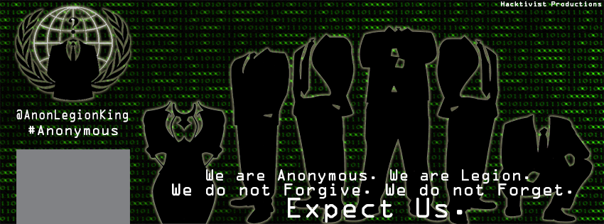 Anonymous Facebook Cover by KingHusky on DeviantArt