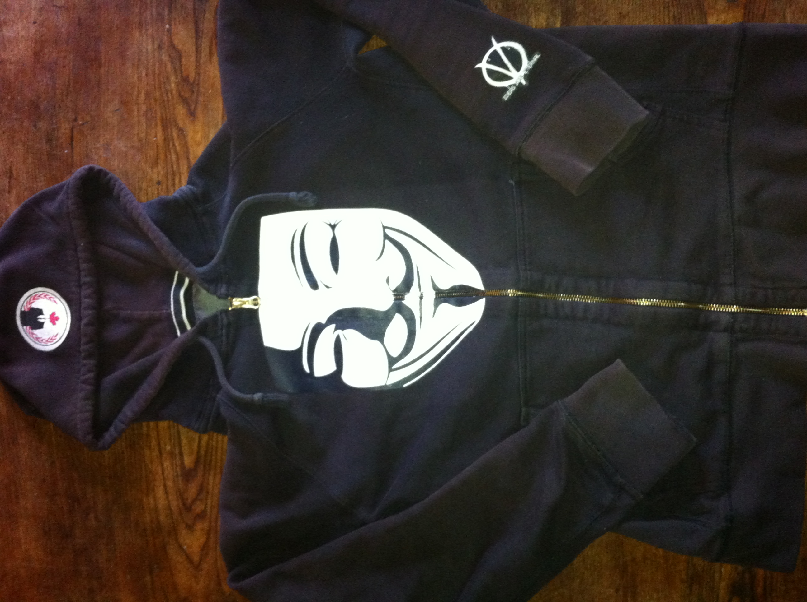 Custom Anonymous Hoodie (1 of 6) by KingHusky