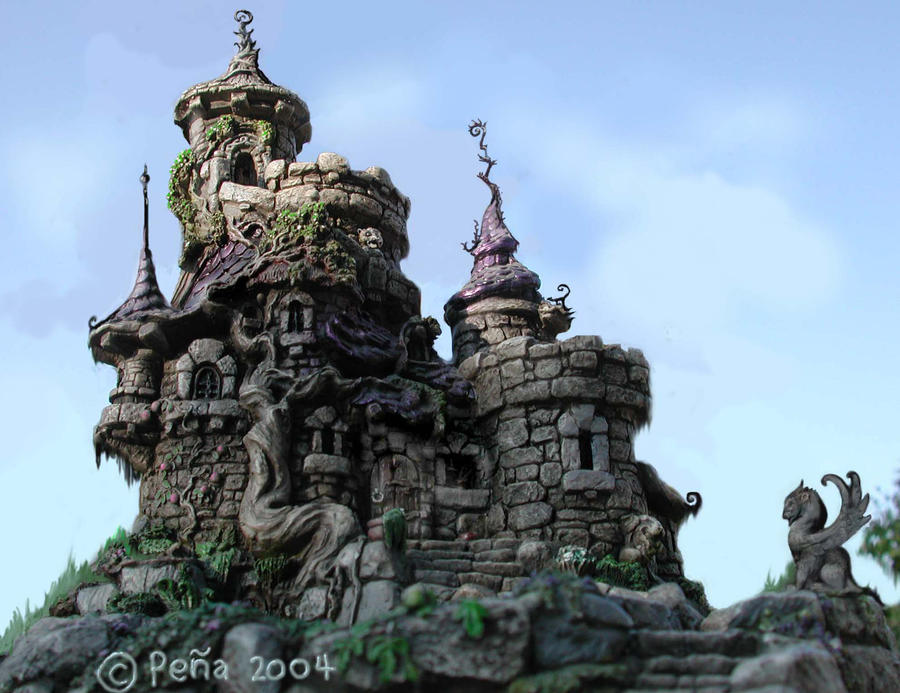 fantasy art wizard castle - photo #11