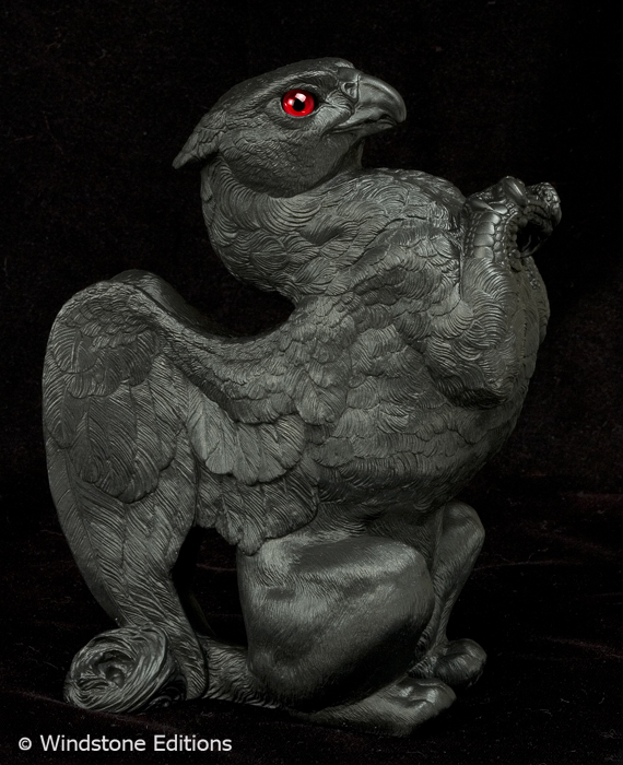 Black Paint your own griffin by Reptangle