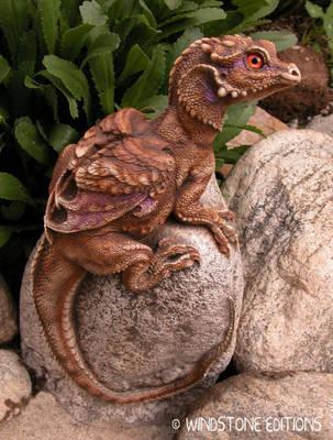 Little Rock dragon by Reptangle