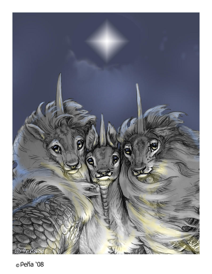 Three Kirin card by Reptangle